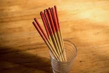 使い古しの竹箸