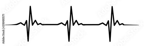Photo  heartbeat #isoliert #vektor - Herzschlag