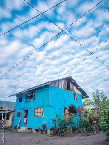 Foto op Plexiglas Zuid-Amerika land Small village of Mindo in Ecuador, South America