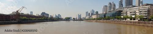 Foto op Aluminium Algerije Panorama of Buenos Aires, Argentina