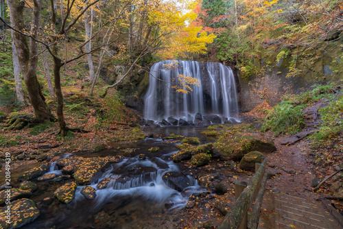Foto op Plexiglas Asia land Tatsuzawafudo Waterfall Fukushima