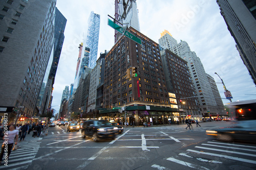 Foto  New York City, incrocio