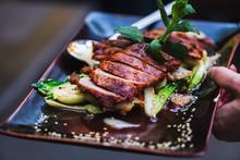 Vietnamesisches Essen Mit Garn...