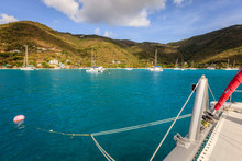 Sailboat Mooring In BVI