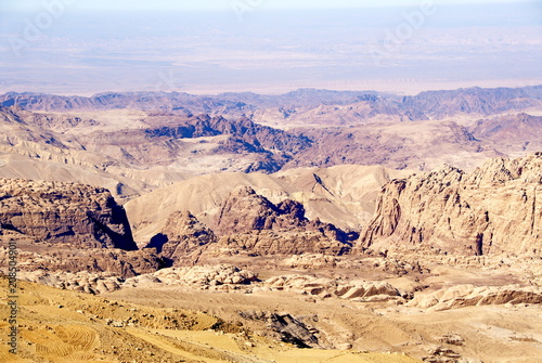 Photo  Jordan. Mountains of Wadi Rum Desert