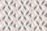 Geo seamless pattern, geometrical ornament, seamless fabric print, pale pastel geometric bacckground, vintage seamless background - 208518150