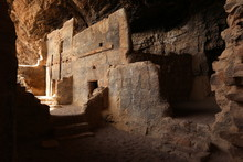 The Lower Salado Cliff Dwelling At Tonto National Monument.