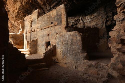 Aluminium Prints Ruins The lower Salado cliff dwelling at Tonto National Monument.