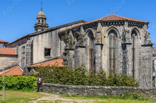 Papiers peints Edifice religieux San Domingos Church in Santiago de Compostela, Spain