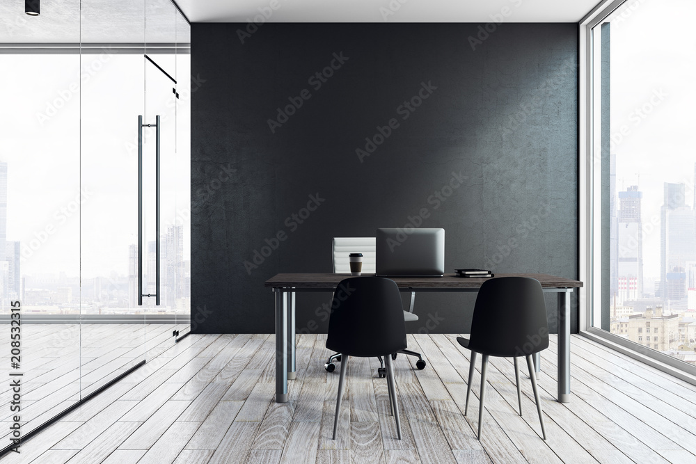 Fototapeta Contemporary office interior