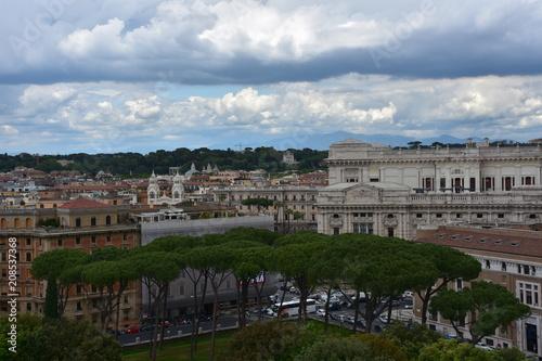 Foto auf Gartenposter Rom Panorama of Rome.