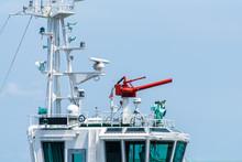船の放水砲 放水銃