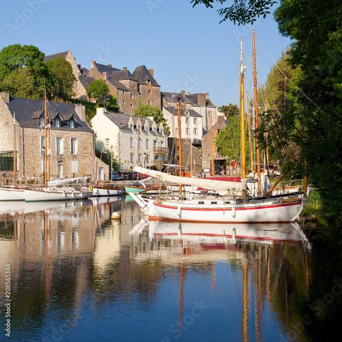 Crédence de cuisine en verre imprimé Port Vieux port de La Roche Bernard - Morbihan