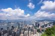 panoramic city skyline in urban