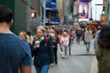 New York City, gruppo di persone