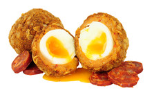 Chorizo And Chicken Scotch Egg...