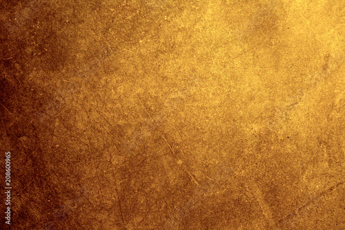 Obraz na plátně bronze metal texture background with high details