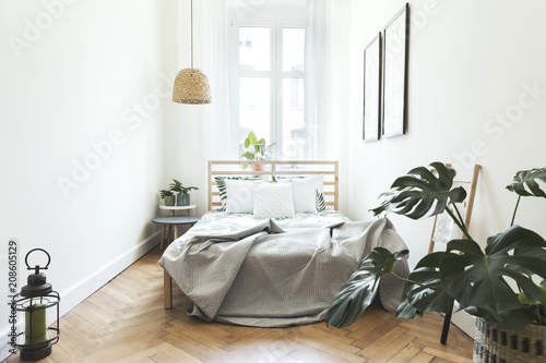 Fotobehang Retro Stylish bedroom