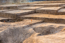 Archaeological Excavations, Remains Of The Settlement, The Scythians Fossilst