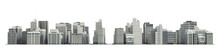 City And Apartment Buildings. ...