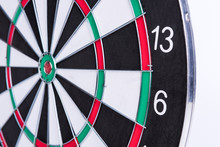 Darts Board, Closeup