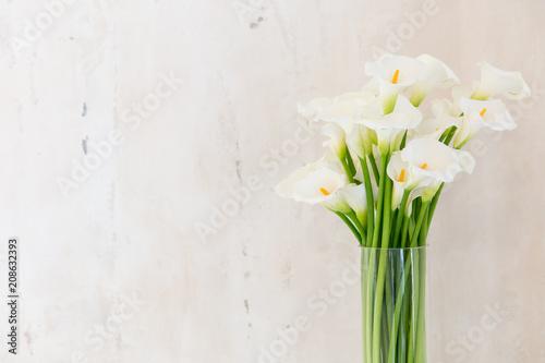 Photo beautiful flower bouquet of calla
