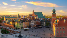 Warsaw, Royal Castle And Old T...