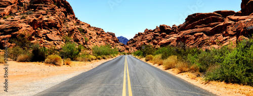 Foto op Plexiglas Route 66 Valley of Fire, Nevada