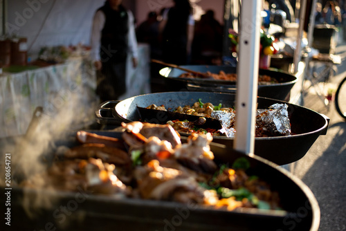 Photo Stands Grill / Barbecue Street food