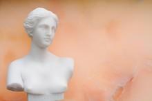 Marble Bust Of The Greek Godde...