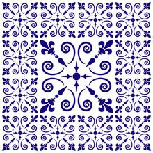 Logo Motif Décoratif. Azulejos.