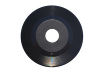 45 Rpm Single Record With Larg...