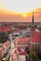 Fototapeta Miasta Wrocław lovely square