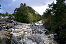 The Falls Of Dochart, Killin, Scotland, UK