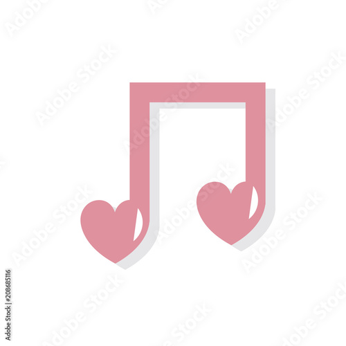 Photo Illustration of music note