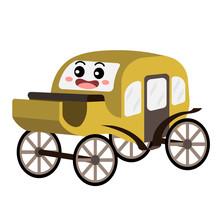 Carriage Transportation Cartoo...