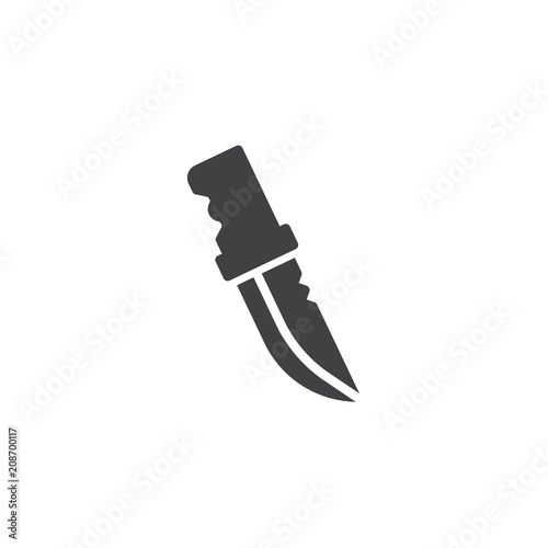 Photo  Knife vector icon