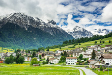 Mustair Village In Switzerland...