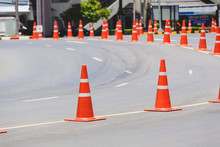 The Orange Cone Is An Object O...