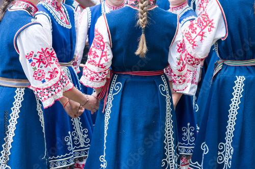 Fotografia  Traditional bulgarian dancers