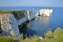 Old Harry Rocks, White Cliffs ...