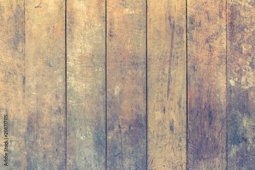 Foto op Plexiglas Wand Wood texture background for interior exterior decoration and industrial construction concept design. Vintage color.