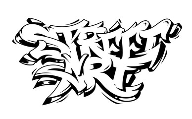 Street Art Graffiti Vector Lettering