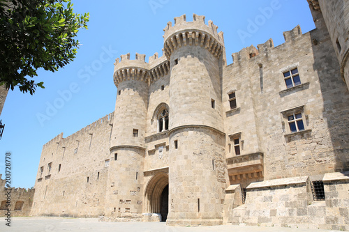Fotografie, Obraz  The medieval Palace of the Grand Master of the Knights of Rhodes, Rhodes Town, M