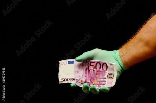 Poster  European Euro Money Banknote