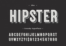 Hipster Trendy Typeface Bold 3...