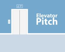Elevator Pitch Poster Design. ...