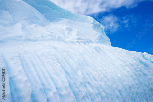 Printed kitchen splashbacks Glaciers Beautiful landscape and scenery in Antarctica