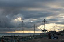 Brighton Evening Clouds