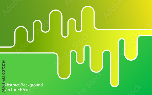 Papiers peints Art abstrait Green abstract vector background